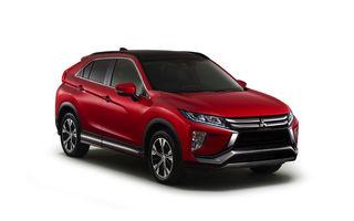 Mitsubishi Eclipse Cross: imagini și detalii oficiale cu noul rival al lui Nissan Qashqai