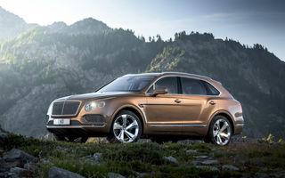Șeful Bentley anunță că Bentayga nu va fi singurul SUV din gamă. Urmează un crossover care ar putea fi electric