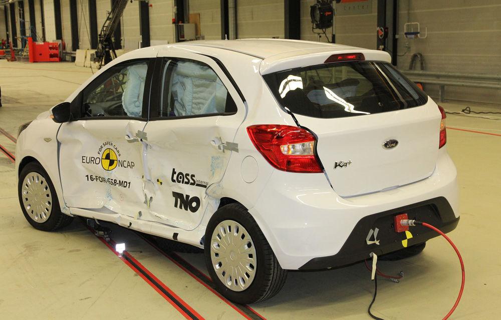 """EuroNCAP face noi """"victime"""": Fiat 500 și Ford Ka+ primesc doar trei stele. SUV-urile Audi Q5 și Toyota C-HR nu dezamăgesc - Poza 14"""