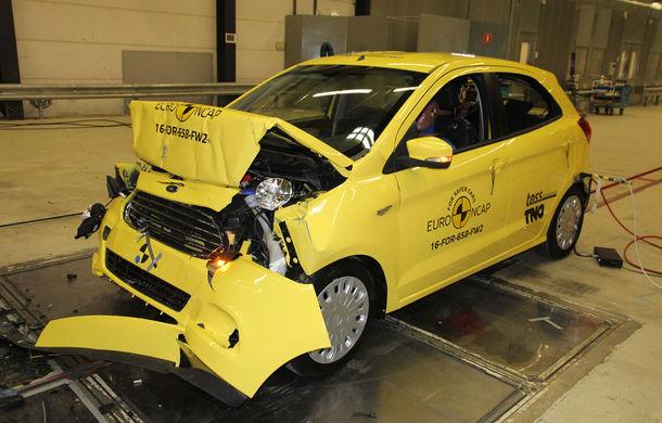 """EuroNCAP face noi """"victime"""": Fiat 500 și Ford Ka+ primesc doar trei stele. SUV-urile Audi Q5 și Toyota C-HR nu dezamăgesc - Poza 12"""
