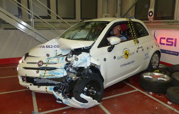 """EuroNCAP face noi """"victime"""": Fiat 500 și Ford Ka+ primesc doar trei stele. SUV-urile Audi Q5 și Toyota C-HR nu dezamăgesc - Poza 21"""