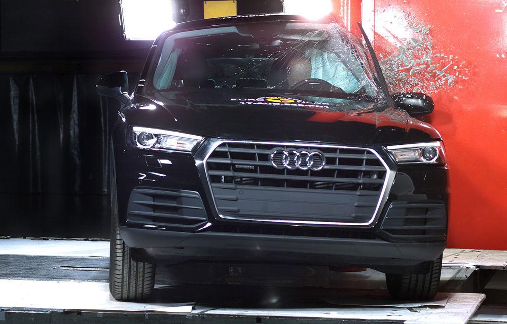 """EuroNCAP face noi """"victime"""": Fiat 500 și Ford Ka+ primesc doar trei stele. SUV-urile Audi Q5 și Toyota C-HR nu dezamăgesc - Poza 6"""