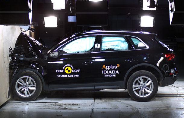 """EuroNCAP face noi """"victime"""": Fiat 500 și Ford Ka+ primesc doar trei stele. SUV-urile Audi Q5 și Toyota C-HR nu dezamăgesc - Poza 3"""