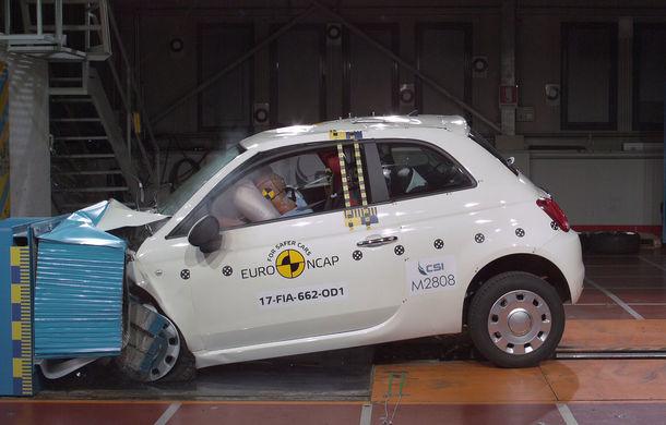 """EuroNCAP face noi """"victime"""": Fiat 500 și Ford Ka+ primesc doar trei stele. SUV-urile Audi Q5 și Toyota C-HR nu dezamăgesc - Poza 1"""