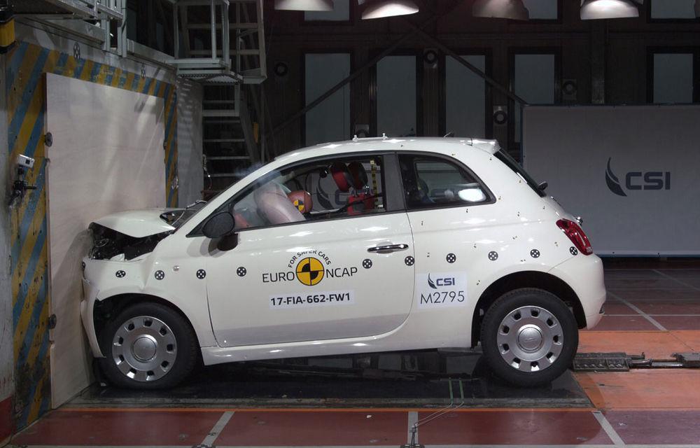 """EuroNCAP face noi """"victime"""": Fiat 500 și Ford Ka+ primesc doar trei stele. SUV-urile Audi Q5 și Toyota C-HR nu dezamăgesc - Poza 19"""