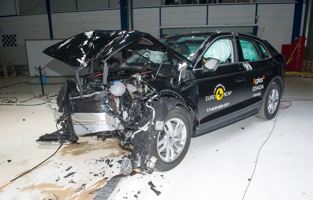"""EuroNCAP face noi """"victime"""": Fiat 500 și Ford Ka+ primesc doar trei stele. SUV-urile Audi Q5 și Toyota C-HR nu dezamăgesc - Poza 5"""