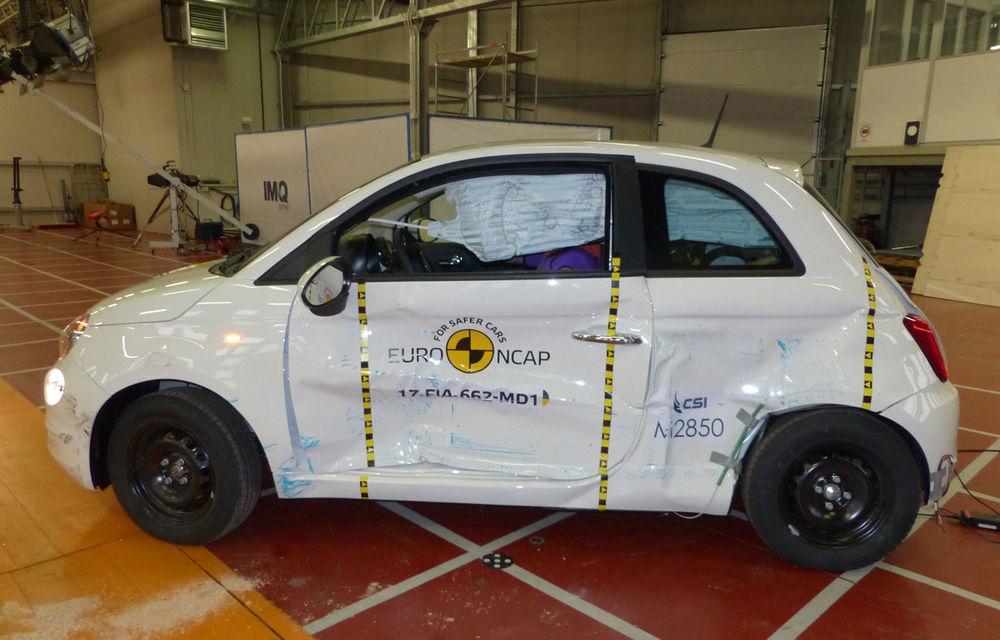 """EuroNCAP face noi """"victime"""": Fiat 500 și Ford Ka+ primesc doar trei stele. SUV-urile Audi Q5 și Toyota C-HR nu dezamăgesc - Poza 22"""