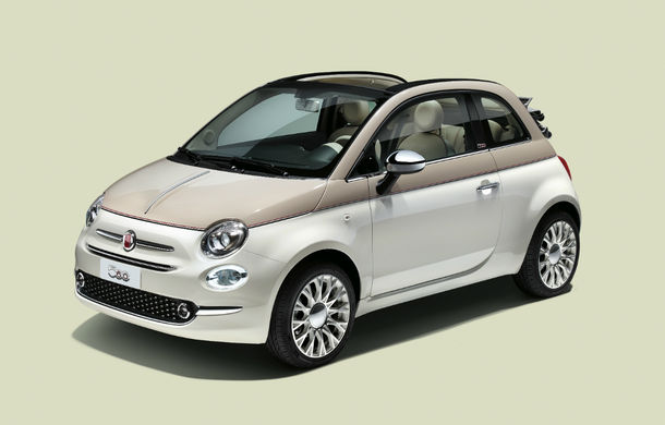 60 de primăveri: Fiat sărbătorește 6 decenii de la lansarea primei generații 500 printr-o ediție specială limitată - Poza 1