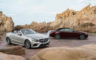 Mai mare și mai încăpător: noul Mercedes Clasa E Cabriolet se prezintă oficial