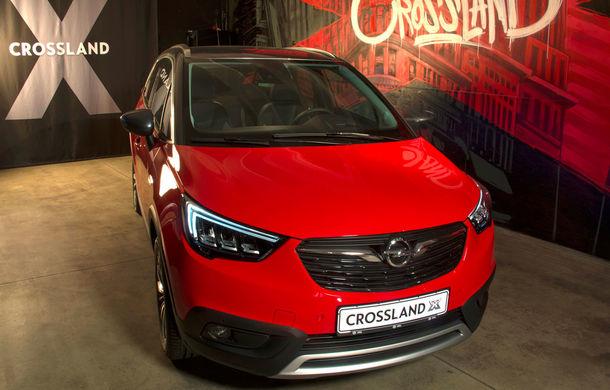 Întâlnire secretă cu noul Opel Crossland X: 5 lucruri pe care trebuie să le știi despre cel mai mic SUV al germanilor - Poza 1