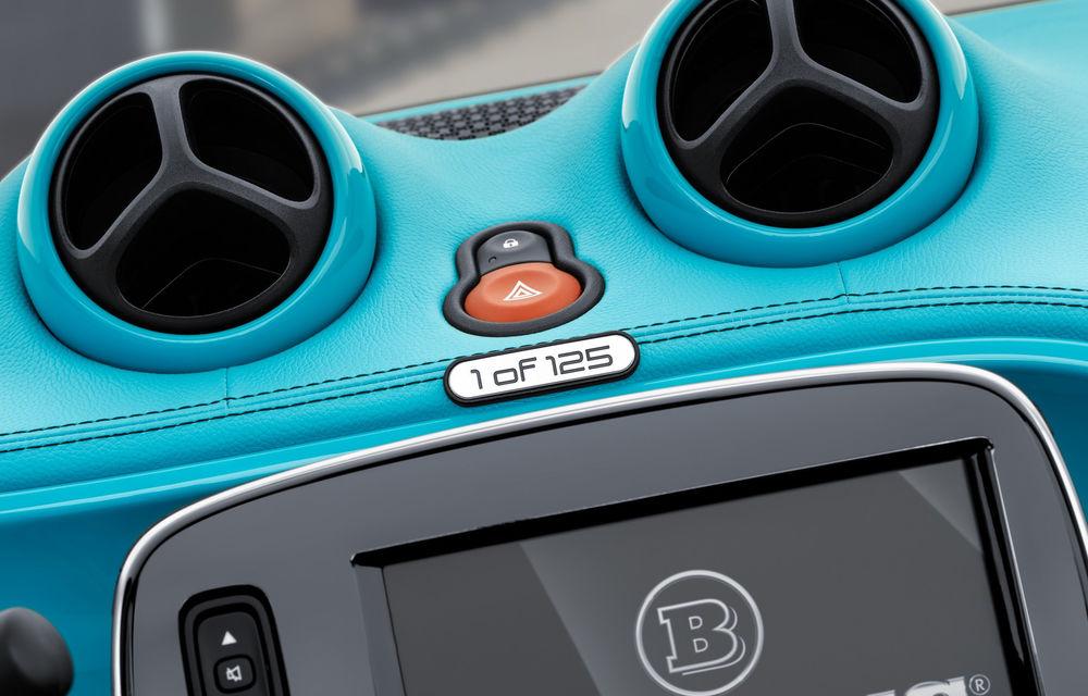 Esențele tari se țin în sticluțe mici: un Smart Fortwo tunat de Brabus costă 53.000 de euro - Poza 12