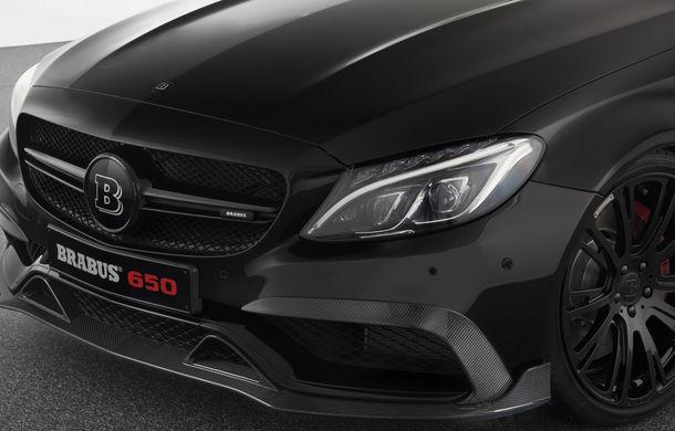Decapotabilă cu aere de supercar: Brabus a lansat un Mercedes-AMG C63 S Cabrio de 650 de cai - Poza 7
