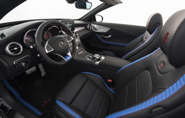 Decapotabilă cu aere de supercar: Brabus a lansat un Mercedes-AMG C63 S Cabrio de 650 de cai - Poza 13