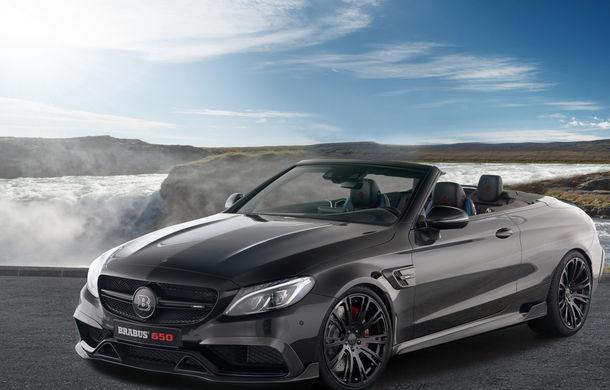 Decapotabilă cu aere de supercar: Brabus a lansat un Mercedes-AMG C63 S Cabrio de 650 de cai - Poza 2