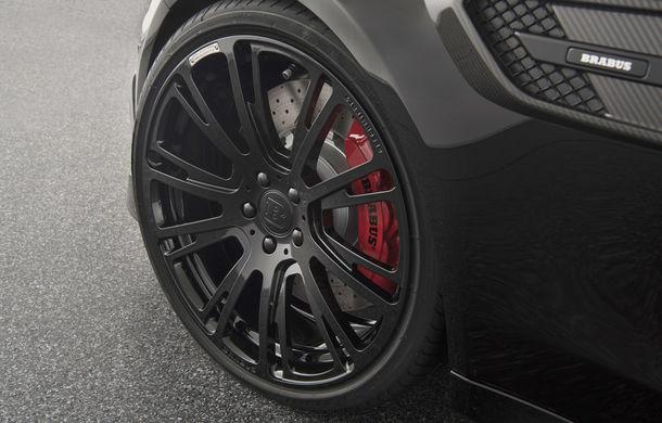 Decapotabilă cu aere de supercar: Brabus a lansat un Mercedes-AMG C63 S Cabrio de 650 de cai - Poza 8