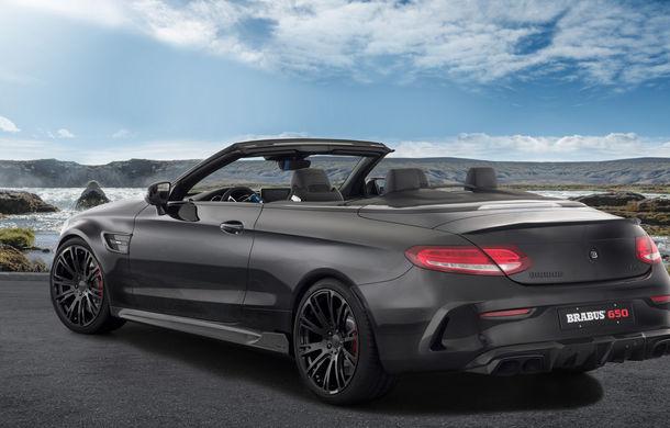 Decapotabilă cu aere de supercar: Brabus a lansat un Mercedes-AMG C63 S Cabrio de 650 de cai - Poza 4