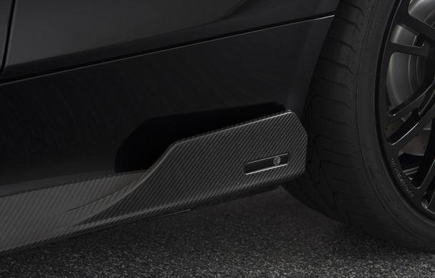 Decapotabilă cu aere de supercar: Brabus a lansat un Mercedes-AMG C63 S Cabrio de 650 de cai - Poza 9