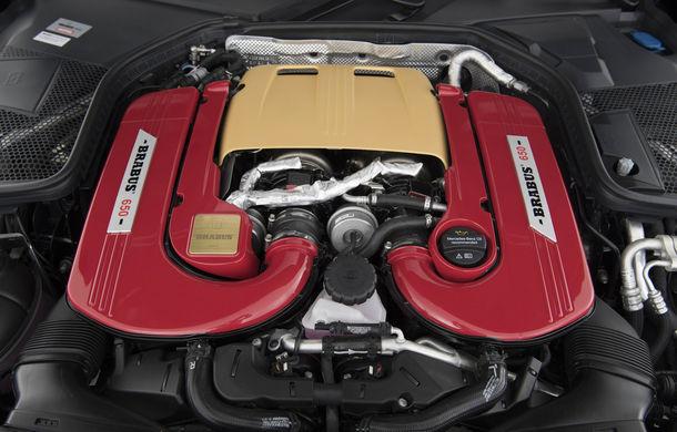 Decapotabilă cu aere de supercar: Brabus a lansat un Mercedes-AMG C63 S Cabrio de 650 de cai - Poza 12