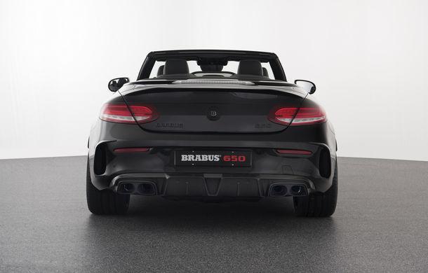 Decapotabilă cu aere de supercar: Brabus a lansat un Mercedes-AMG C63 S Cabrio de 650 de cai - Poza 6