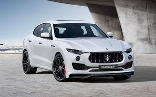 Tunerii și-au adus aminte de Maserati: kit complet pentru un Levante mai agresiv