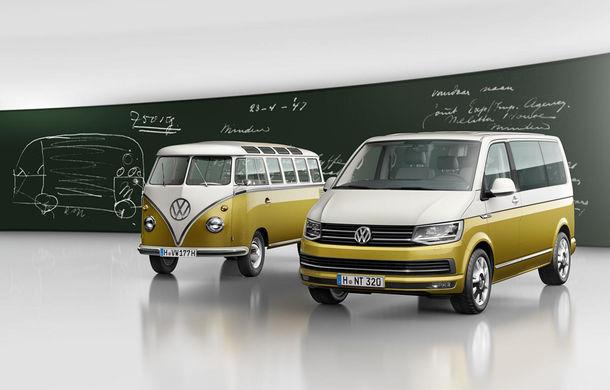 """""""Bus-ul"""" Volkswagen ajunge la 70 de ani: VW Multivan primește o ediție specială dedicată strămoșului său - Poza 1"""