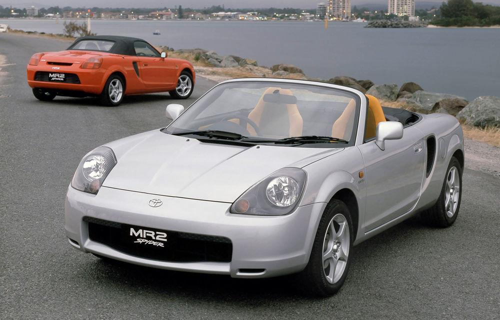Toyota confirmă un al treilea model în gamă: un urmaș al roadsterului MR2, care să stea lângă GT86 și Supra - Poza 1