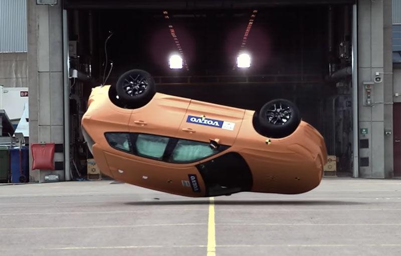 Volvo ne arată testele de impact la care a fost supus noul XC60 înainte de a primi undă verde - Poza 1