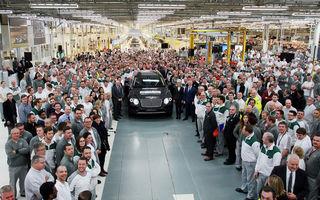 Din cauza Brexit-ului, perla industriei auto britanice amenință cu retragerea: Bentley vrea să mute producția în afara țării