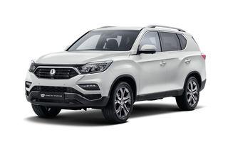 Ssangyong Rexton reîncărcat: marca sud-coreeană a prezentat astăzi prima imagine cu noua generație a celui mai mare SUV din gamă