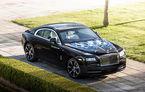 Rolls Royce lansează nouă exemplare Wraith dedicate celor mai mari muzicieni englezi