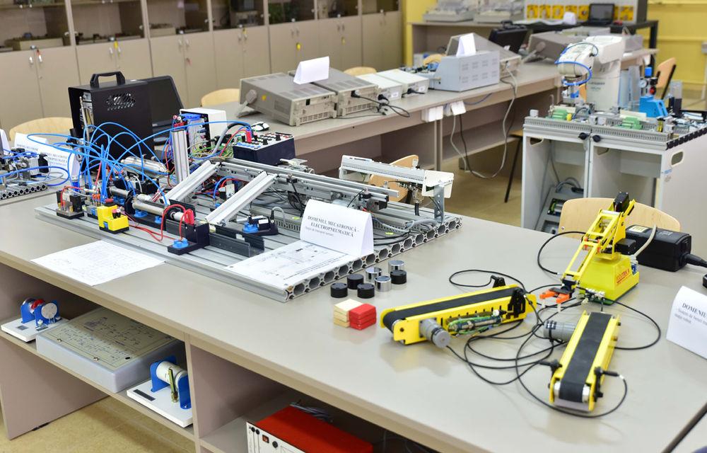 Ford educă tinerii pentru o carieră în industria auto: compania a inaugurat un Laborator de Mecatronică la un colegiu din Craiova - Poza 1