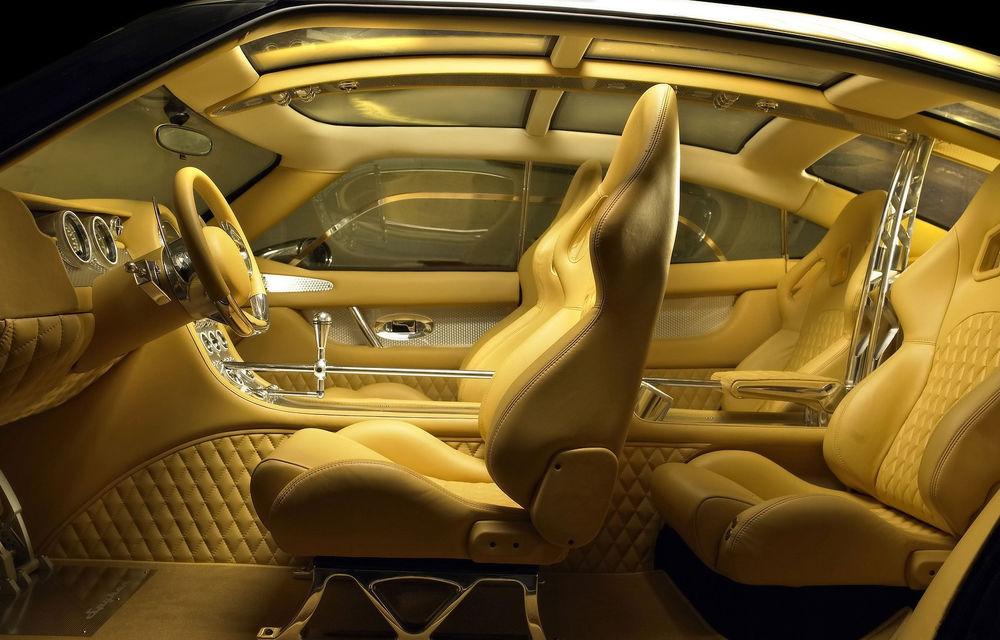 Piața SUV-urilor de lux va avea un nou membru: Spyker promite că va lansa versiunea de serie a conceptului D12 - Poza 7