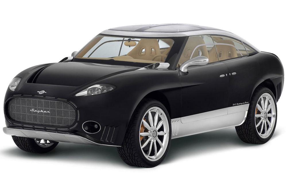 Piața SUV-urilor de lux va avea un nou membru: Spyker promite că va lansa versiunea de serie a conceptului D12 - Poza 1