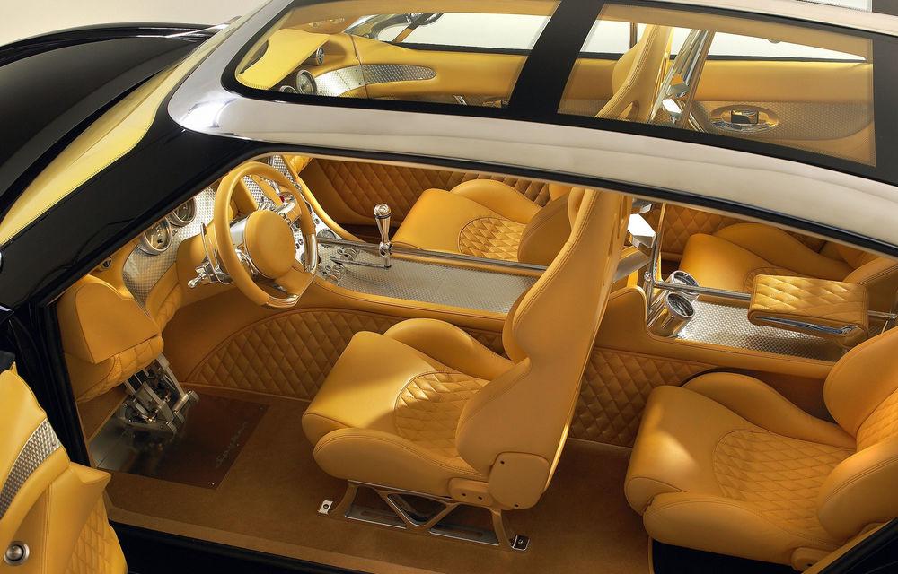 Piața SUV-urilor de lux va avea un nou membru: Spyker promite că va lansa versiunea de serie a conceptului D12 - Poza 8