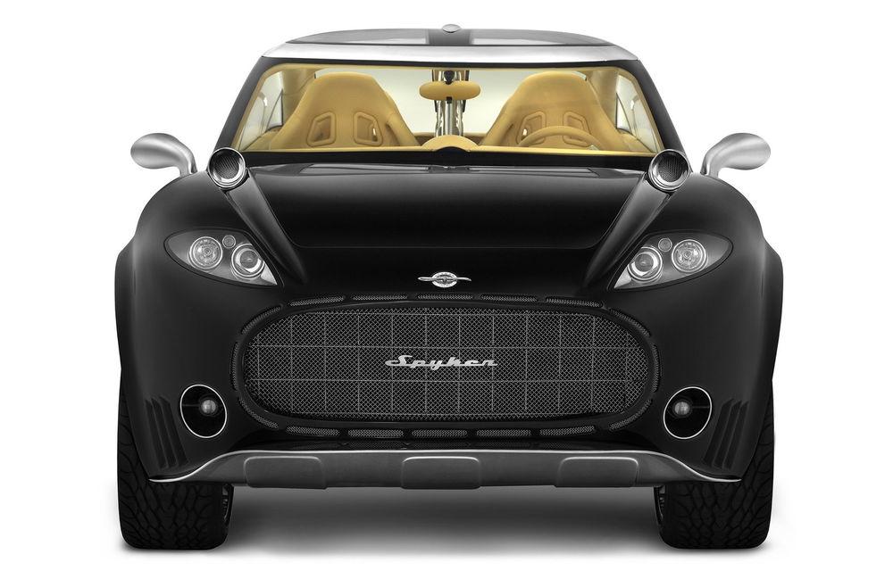 Piața SUV-urilor de lux va avea un nou membru: Spyker promite că va lansa versiunea de serie a conceptului D12 - Poza 9