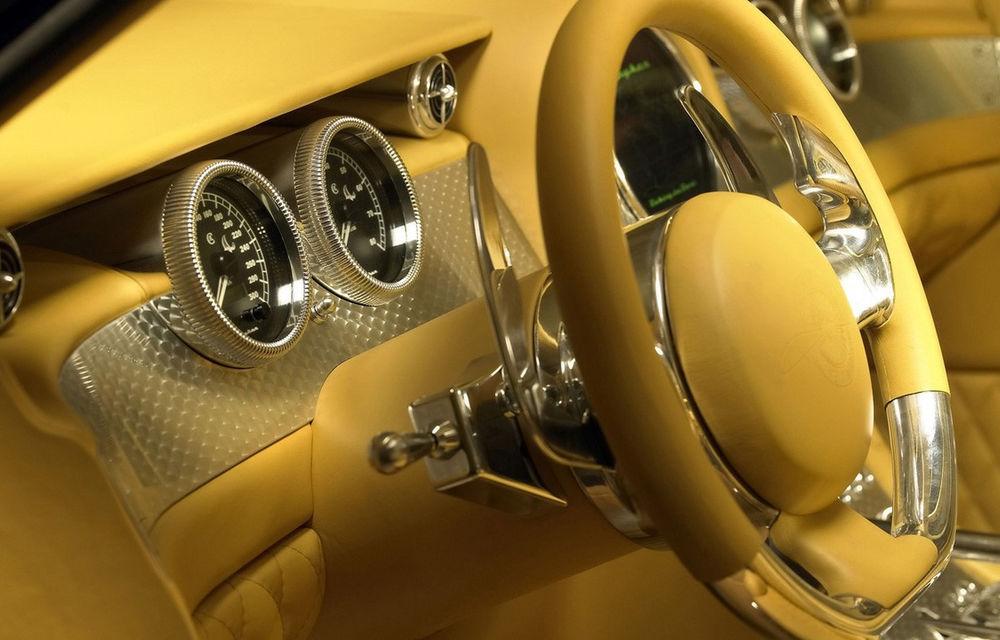 Piața SUV-urilor de lux va avea un nou membru: Spyker promite că va lansa versiunea de serie a conceptului D12 - Poza 6