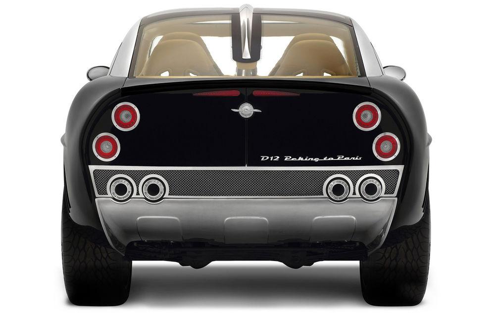Piața SUV-urilor de lux va avea un nou membru: Spyker promite că va lansa versiunea de serie a conceptului D12 - Poza 4