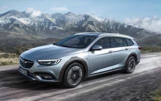 Noua generație Opel Insignia Country Tourer: tracțiune integrală și gardă la sol cu 20 mm mai mare