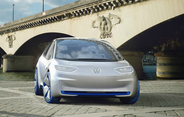 Volkswagen pregătește un nou concept: un sedan electric va completa gama ID - Poza 1