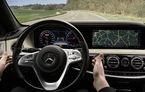 Interiorul noului Mercedes Clasa S facelift, dezvăluit anticipat într-un comunicat de presă