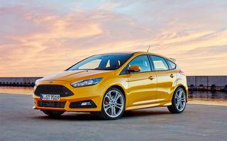 Primele detalii despre viitoarea generație Ford Focus ST: versiunea de performanță va utiliza motoare turbo de 1.5 litri și până la 280 de cai putere