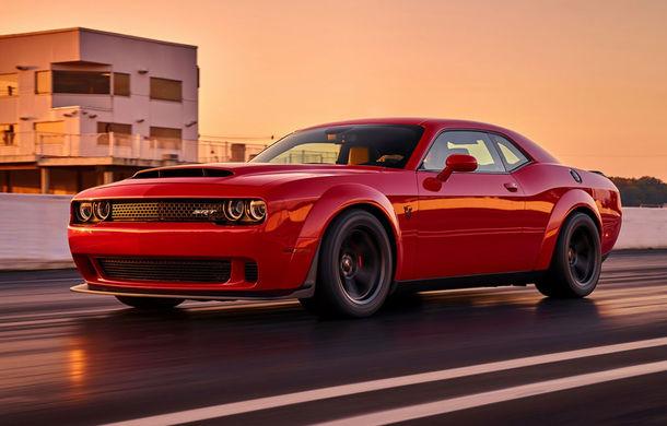 Până unde poate merge nebunia americanilor? Dodge Challenger SRT Demon este cea mai rapidă mașină din lume - Poza 1