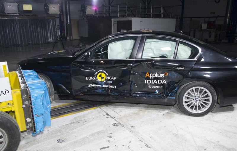 Noua generație BMW Seria 5 își respectă blazonul: 5 stele în testele de siguranță EuroNCAP - Poza 5