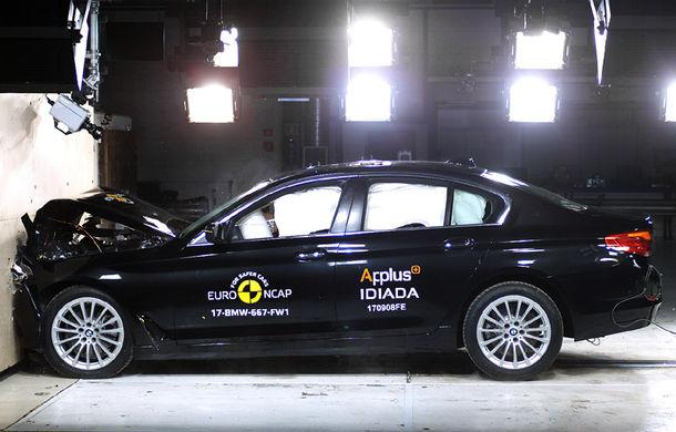 Noua generație BMW Seria 5 își respectă blazonul: 5 stele în testele de siguranță EuroNCAP - Poza 7