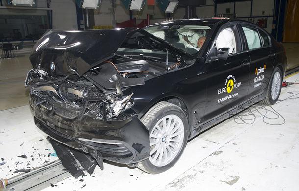 Noua generație BMW Seria 5 își respectă blazonul: 5 stele în testele de siguranță EuroNCAP - Poza 6