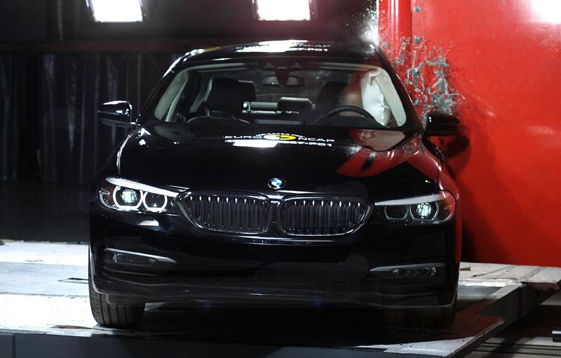 Noua generație BMW Seria 5 își respectă blazonul: 5 stele în testele de siguranță EuroNCAP - Poza 3