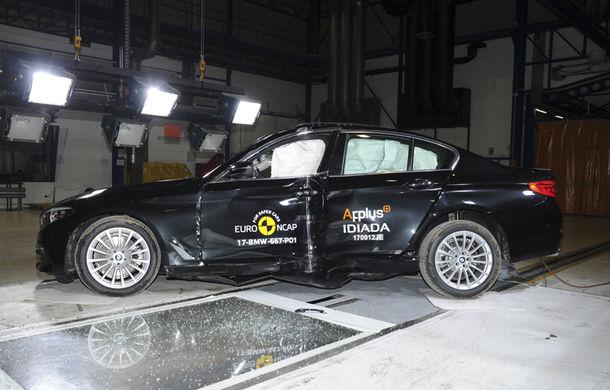 Noua generație BMW Seria 5 își respectă blazonul: 5 stele în testele de siguranță EuroNCAP - Poza 2