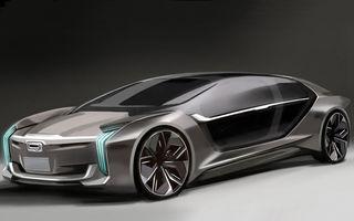 Asta iese când amesteci niște chinezi ambițioși cu suedezi specializați în supercaruri: Koenigsegg și Qoros prezinta primele imagini ale conceptului comun