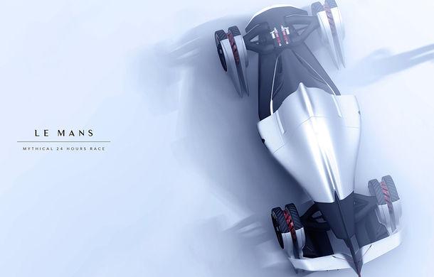 Tesla T1: conceptul inedit pentru Cursa de 24 de ore de la Le Mans are 1.340 de cai putere și atinge peste 400 km/h - Poza 3