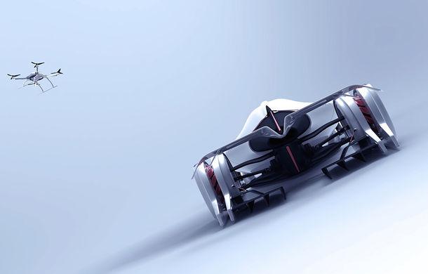 Tesla T1: conceptul inedit pentru Cursa de 24 de ore de la Le Mans are 1.340 de cai putere și atinge peste 400 km/h - Poza 4